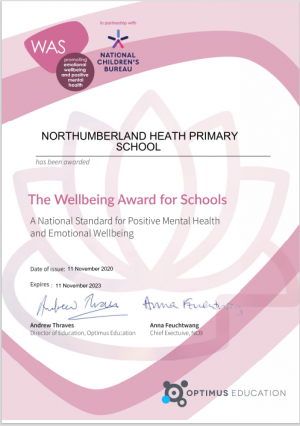 Wellbeing Award2